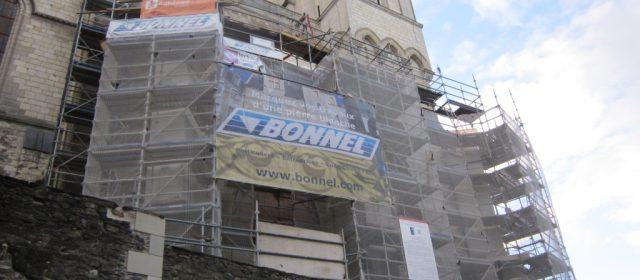 A Angers, l'entreprise de maçonnerie Bonnel a été placée en redressement