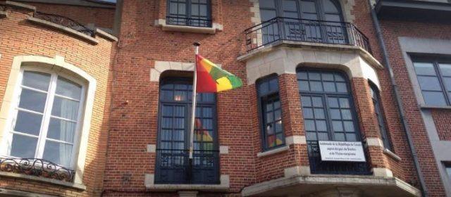 L'Ambassade de Guinée à Bruxelles ciblée par des intrus, personnel et ressortissants sont dans le désarroi