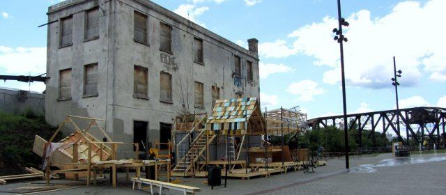 Nouvelles Halles de Pau en plein chantier cet été